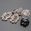 Большие украшения коллекции Эвелина, с камнями
