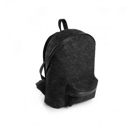 Рюкзак из войлока, c карманом
