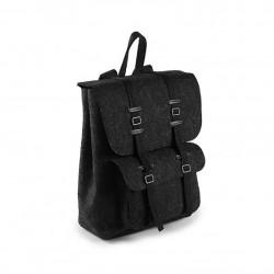 Практичный рюкзак из войлока с карманами