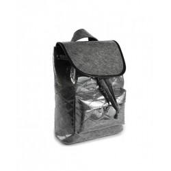 Рюкзак с прострочкой из войлока и ПВХ