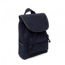 Рюкзак из цветного войлока (синий)