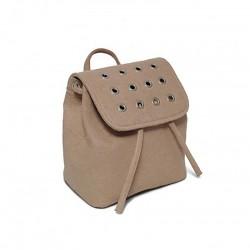 Яркий войлочный рюкзак с заклепками