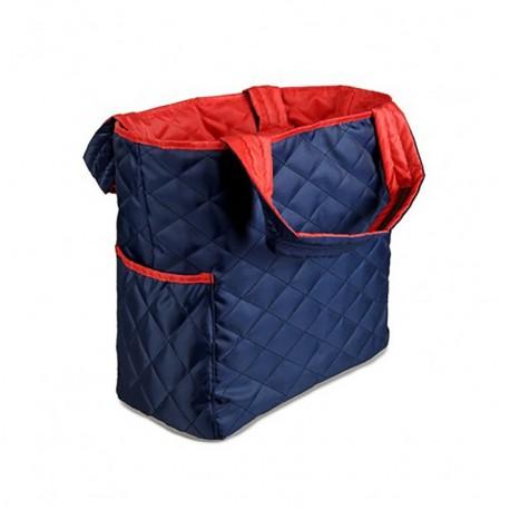 Стеганая сумка на две стороны