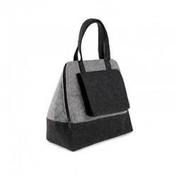 Большая женская сумка из войлока КАРМАН, 51х40х21 см