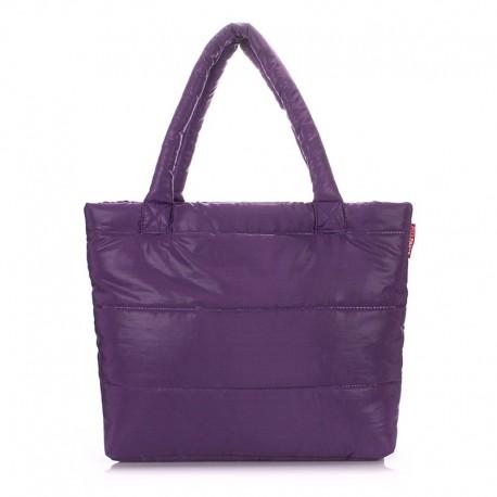 Сумка дутая PUFFY ECO-BAGS (фиолетовая)