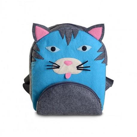 Детский войлочный рюкзак КОТЕНОК