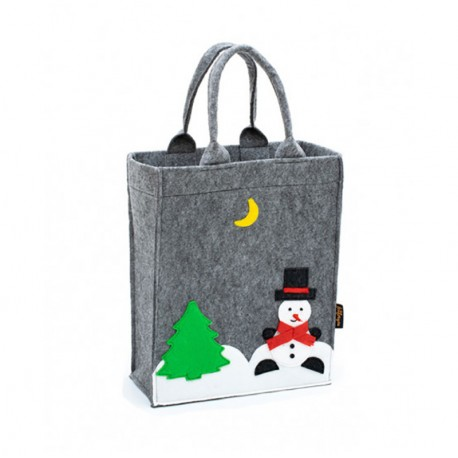 78c9c1568146 Сумка пакет из войлока НОВЫЙ ГОД - магазин войлочных сумок Леди сн юа
