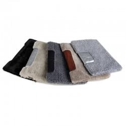 Меховый чехол для планшета размер 38х27 см