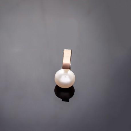 Серебряный кулон Вера с жемчужиной
