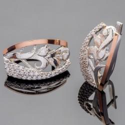 Руслана - серебряные серьги