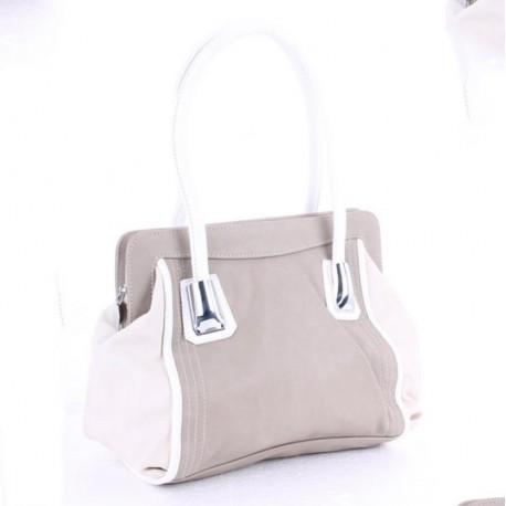 Женская сумка Vensi (Венси) серая