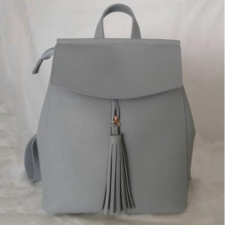 Женский рюкзак (серый)