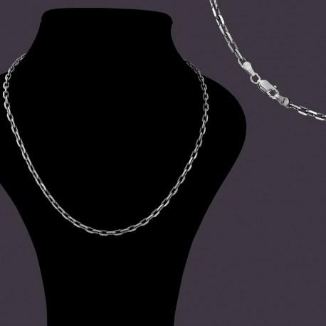 Серебряная цепочка Якорная