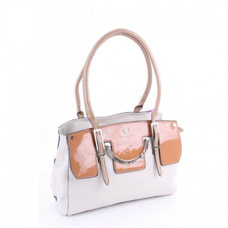 Светлая сумка Velina Fabbiano