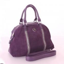 Замшевая сумка V-Fabiano (фиолетовый)