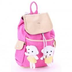 Детский рюкзак с игрушками мишками