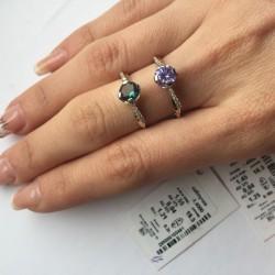 Серебряное кольцо Мисс