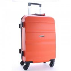Дорожный чемодан на колесах пластиковый