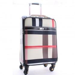 Дорожный чемодан из эко-кожи