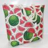 Летняя сумка с принтом Арбузы, текстиль