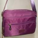 Вместительная сумка-клатч с длинным ремешком