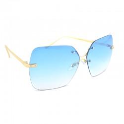 Эксклюзивные очки от солнца с голубыми линзами