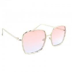 Имиджевые очки с розовыми линзами