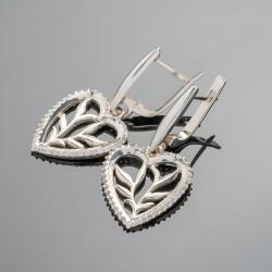 Серьги Наоми из серебра 925