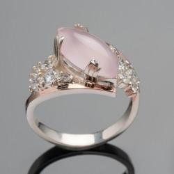 Кольцо женское Манго (розовый)