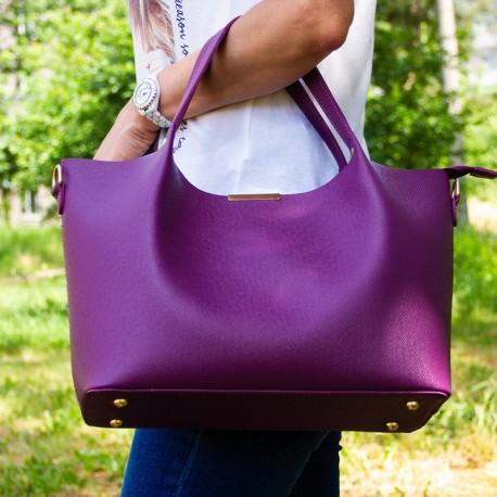 Сумка шоппер Betty Pretty (фиолетовый)