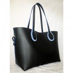 Сумка женская (черный+синий)