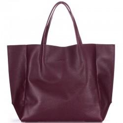 Брендовая женская сумка Poolparty SOHO, 100% кожа (голубой)
