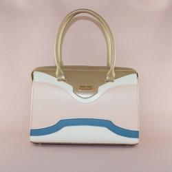 Деловая женская сумка (Золото)