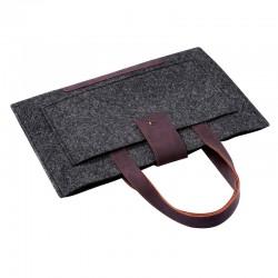 Войлочная сумка для Macbook Air 13 (черный)