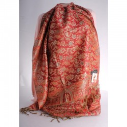 Кашемировый шарф ТУРЕЦКИЕ МОТИВЫ размер 180х60 см