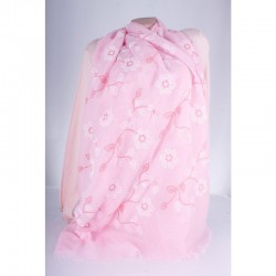 Женский шарф размер 180х70 см, х/б