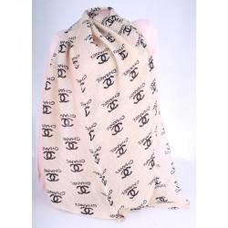 Женский шарф жатка размер 170х60 см, гофре