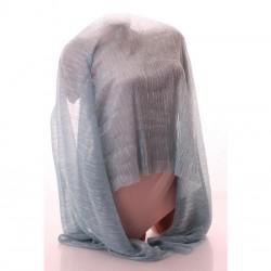 Легкий шарф на весну Д195хШ75 см, шелковый