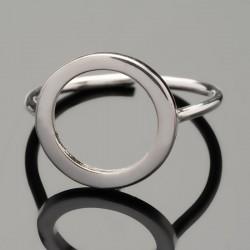 Серебряное кольцо Соло минимализм