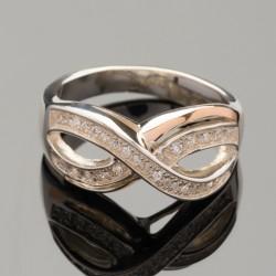 Кольцо Лина знак бесконечности