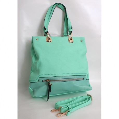 Женская сумка мятного цвета