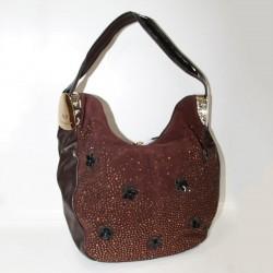 Замшевая сумка Velina Fabbiano