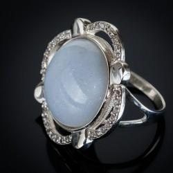 Кольцо женское Сияние серебро 925