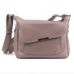 Женская сумка мессенджер (розовый)