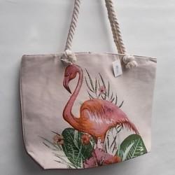 Сумка для пляжа Фламинго