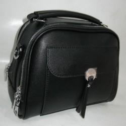 Женский клатч барсетка (черный)