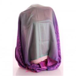 Палантин с перламутром (фиолетовый)