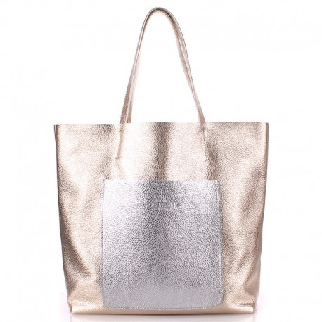 Poolparty MANIA - сумка из натуральной кожи (белый)