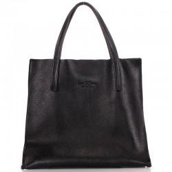 Натуральная кожаная сумка на плечо Poolparty SOHO VERSA TOTE