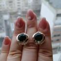 Серебряные серьги Анжелика